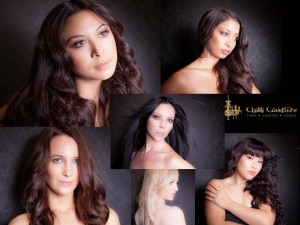 Chilli Couture Hair Extensions Photoshoot