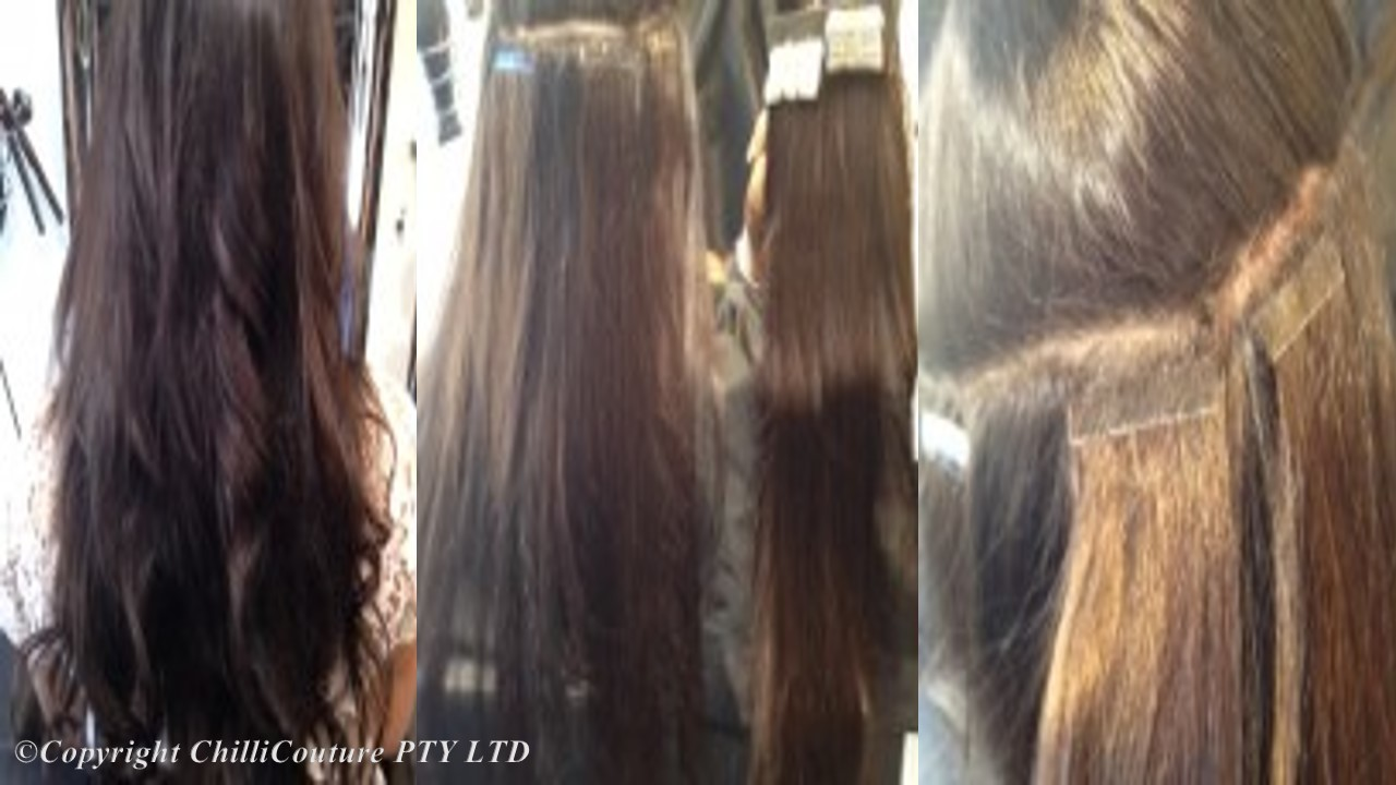 Hair Tape Extensions Before And After 75