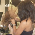 Zhivago Model Hair styling by Chilli Couture Behind The Scenes