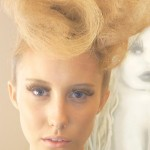 Zhivago Blonde Model Styled by Chilli Couture - Best Hair Stylist Perth