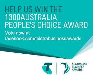 We Need Your Vote for Telstra Business Awards People's Choice Award!
