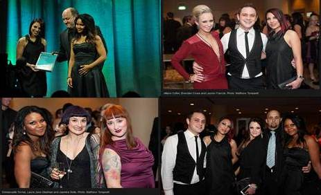 Chilli Couture team at Telstra Western Australia 2012 Business Awards