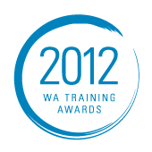 2012 WA Training Awards Logo | Chilli Couture