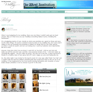 Style Your Hair featured in The West Australian