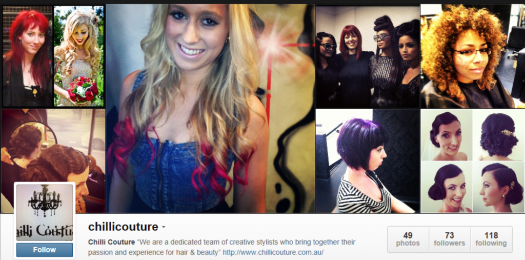 Chilli Couture Instagram Profile