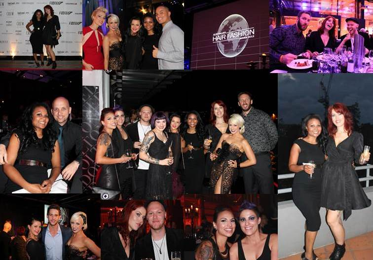 Chilli Couture Team Attend the 2013 Australian Hair Fashion Awards Event
