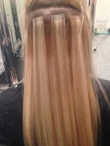 best hair salon perth does long hair extensions