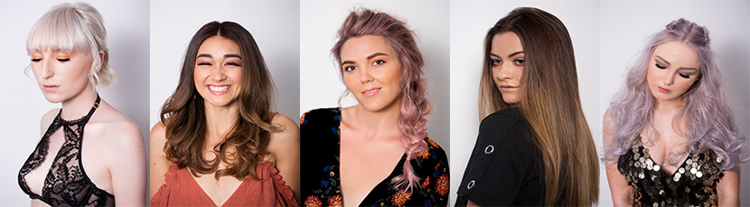 best hair salon in perth showcases stunning haircut and natural hair dye colour