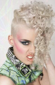 AHFA Awards Chilli Couture Photo Entry - Late 80's curl hairstyle