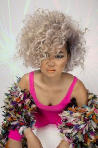 AHFA Awards Chilli Couture Photo Entry - Voluminous Small Curls Hairstyle Perth
