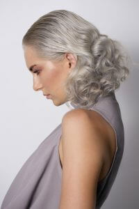 Sleek and Curls Hair Style by Chilli Couture