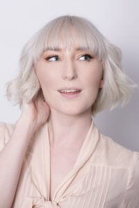 Short Blonde Hair with Full Bangs - Chilli Couture Hairstylist Perth
