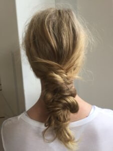 Knotted plait Hair Style