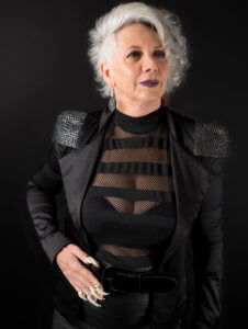 maye musk inspired mature ladies hair vegan hairdresser