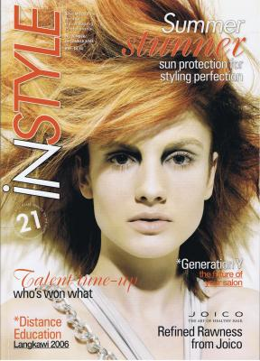 Instyle Dec 2006 cover